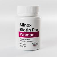 MinoX Biotin Pro Woman - женские витамины для роста волос