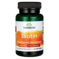 """Витамины """"Biotin"""" 60 капсул, 10,000 мкг"""